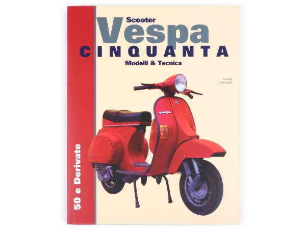 Book -Vespa Tecnica VII Vespa Cinquanta (PK 50-125)- Italian