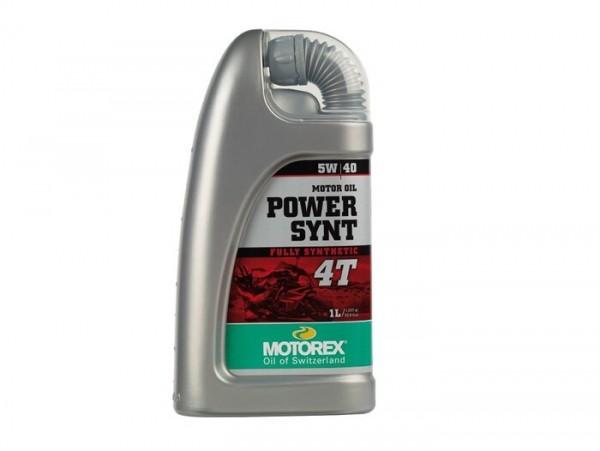 Öl - Motoröl -MOTOREX Power Synt 4T- 4-Takt SAE 5W-40 vollsynthetisch - 1000ml