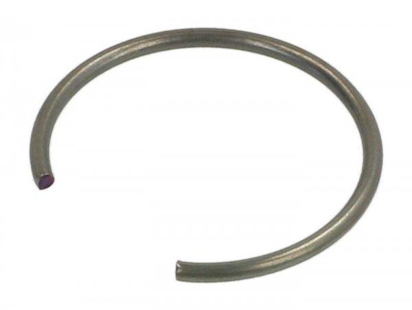 Circlip for gudgeon pin -PIAGGIO, Leader 125cc, 150cc, 180cc, 200cc, Quasar 250cc- 15mm x 1,00mm- C-Typ