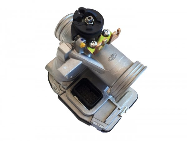 Drosselklappengehäuse -PIAGGIO- inkl. ECU - Vespa GTS Super 125 (ZAPM45300)