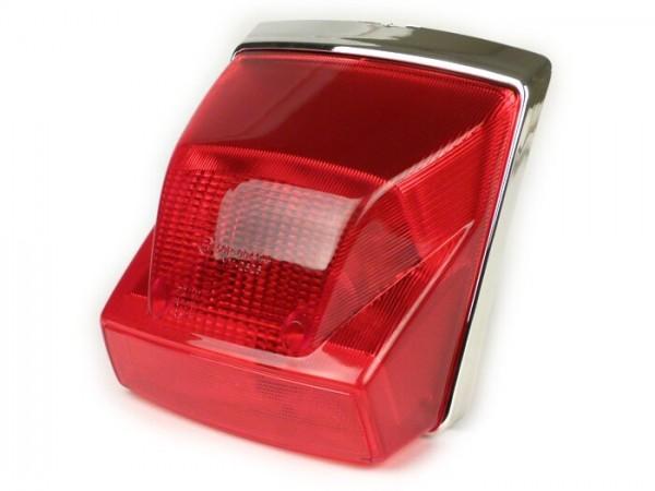 Rücklicht -MOTO NOSTRA- Vespa PX Lusso (MY, 2001-) - rot