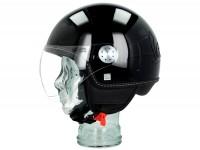 Casque -VESPA Visor 3.0- noir lucido (094) -