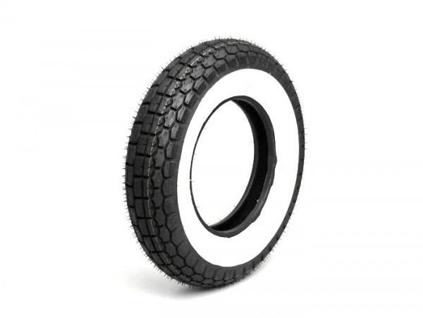 Neumático -SAVA/MITAS B13 lateral blanco- 3.50 - 8 pulgadas TT 46J