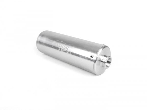 Silencer -SCOOTER & SERVICE Newline Ø85x250mm- aluminium