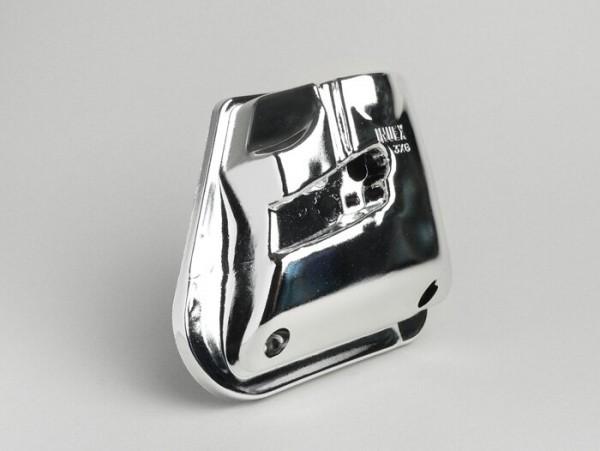 Luftfilterabdeckung -BGM- Yamaha Aerox (YQ50/L, 2-Takt), MBK Nitro (YQ50/L, 2-Takt)- Chrom