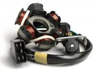 Zündung -BGM ORIGINAL Grundplatte- Kymco 50 ccm DJ, KB, Peugeot Rapido, Honda Vision Met-In