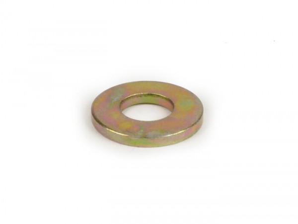 Arandela -PIAGGIO- M8 8,4X18,0X2,0mm, galvanizado (utilizado para pedal de arranque Vespa PX)