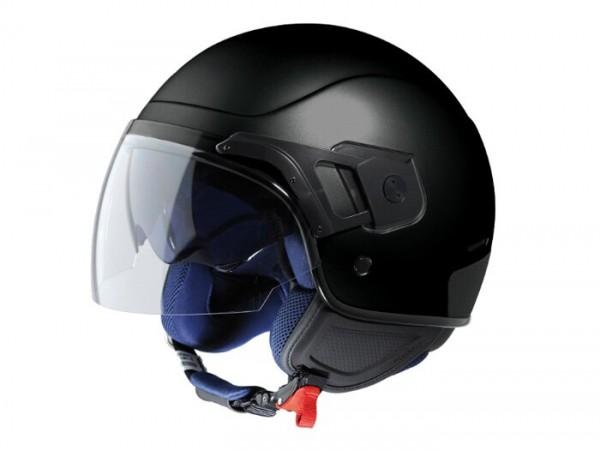 Helm -VESPA PJ- Jethelm, schwarz matt - XS (52-54cm)