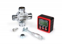Digitale Gradscheibe -TSR Buzzwangle Ignition and Port Timing Tool- verwendet zum digitalen messen des Zündzeitpunktes und der Steuerwinkel/Steuerzeiten bei 2-Takt & 4-Takt Motoren