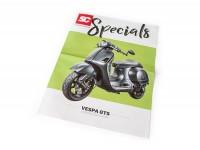 Flyer - Broschüre -SC Specials: VESPA GTS- edition 01/2018 -