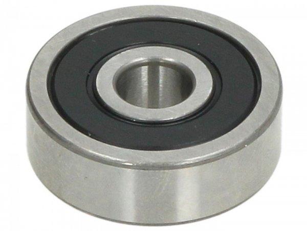 Rodamiento de bolas -638 2RS- (08x28x09mm) - (para eje de la bomba de agua - Vespa GTS 300 (ZAPMA3300), Vespa GTS HPE 300 (ZAPMA3600, ZAPMD310), Vespa GTS Super 125 (ZAPM45300, ZAPM45301), Vespa GTS Super 300 (ZAPMA3300), Vespa GTS Super HPE 300 (ZAP