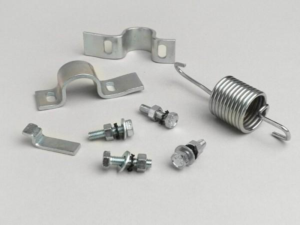 Kit chapas de caballete -CALIDAD OEM- Vespa VBB1T (17451-), VBB2T, VNB2T (9001-), VNB3-6T, GL150 (VLA1T), Super125/150 (VNC1T/VBC1T), Sprint150/Veloce (VLB1T), GT/GTR125 (VNL2T), Rally180/200 (VSD1T/VSE1T), TS125 (VNL3T), SS180 (VSC1T)