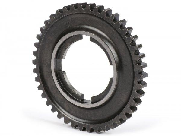 2nd gear cog -OEM QUALITY- Vespa PX Lusso/EFL 125ccm, 150ccm, 200 ccm, T5 125ccm, Cosa, LML Star/Stella 2-stroke - 42 teeth - fits also P-Range (1982-) 125ccm, 150ccm, 200 ccm, Rally 180/200