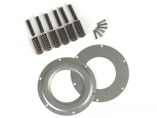 Primärreparaturkit -BGM PRO 12 Federn (verstärkt+), Ø104mm, für Primärrad BGM Pro 62/63Z (geradeverzahnt)- Vespa Largeframe PX80, PX125, PX150, PX200, Cosa, T5 125cc, Sprint, GS160 / GS4, SS180, VNC (ab 11001), GT125, GTR125, TS125, GL150, VBC