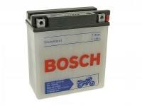 Batterie -Standard BOSCH 12N5-3B / YB5L-B- 12V 5Ah -120x60x130mm (inkl. Säurepack) - Vespa PX alt (bis 1984) - PX80, PX125, PX200, PK50 Automatik, TPH80