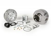 Cylinder -MALOSSI SPORT alloy 177cc 3 transfer ports, 57mm stroke, single exhaust port- Vespa PX125, PX150, Cosa125, Cosa150, LML Star 125/150, Stella 125/150