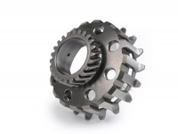 Clutch sprocket -FA ITALIA- Vespa Cosa2, PX (1995-) - (for 64/65 tooth primary gear, helical) - 23 tooth