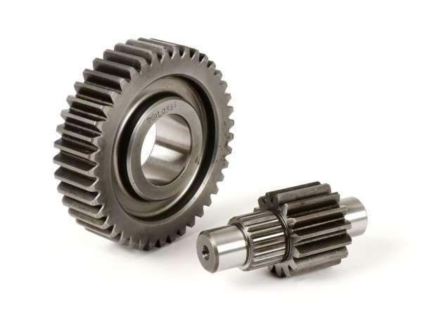 Getriebe sekundär -MALOSSI- Piaggio 125-200 ccm Leader - 15/41 = 1:2,73