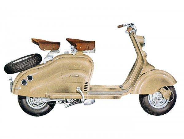 Lambretta (Innocenti) LD 125 (1951-55)