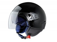 Helmet -VESPA PJ- open face helmet, black - S (55-56cm)