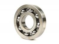Ball bearing for crankshaft -MALOSSI Sport- 613912 (25x62x12mm) - C4, ball Ø=10.3mm - (used for crankshaft, drive side Vespa PX, T5 125cc, Rally180, Rally200, Sprint, GS150 / GS3, VNA, VNB, VBA)
