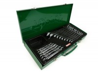 Combination wrench set -TOPTUL Hi-Performance- 6, 7, 8, 9, 10, 11, 12, 13, 14, 15, 16, 17, 18, 19, 22, 24mm - 16 pcs