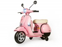 Scooter for kids -Vespa PX150- electric - pink