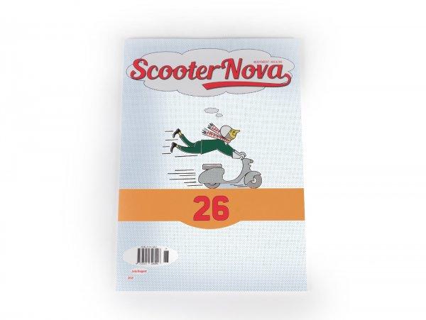 "Revista ""Scooter Nova Magazine"" - (#026) - julio/agosto 2021"