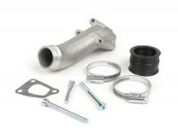 Intake manifold -POLINI 3-stud, rotary valve- Vespa V50, PV125, ET3- CS=34mm