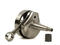 Albero motore -TAMENI Racing (valvola rotante)- Vespa PV125, ET3 125, PK80 S, PK125 S (cono Ø=19mm)