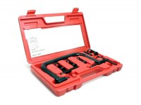 Ventilfederkompressor-Set -BGM ORIGINAL- mit 5 Adaptern (14,5-16mm/16,5-19mm/21,5-23mm/23,5-25mm/28,5-30mm)