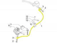 Bremsleitung vorne -PIAGGIO- Vespa S 50 (ZAPC381, ZAPC386, ZAPC389), S 125 (ZAPM443, ZAPM681, ZAPM683), S 150 (ZAPM444)
