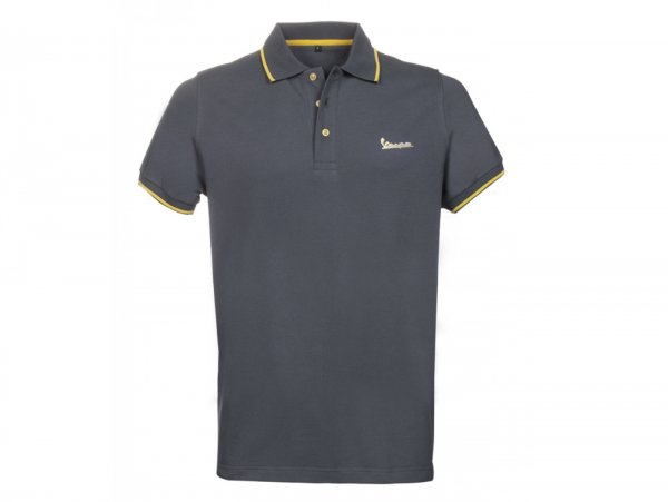 "Polo-shirt, men -VESPA ""Graphic"", grey- M"