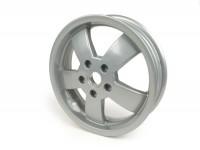 Felge -PIAGGIO 3.00-12 Zoll- Vespa GT, GTL, GTS, GTV - ohne ABS - silber