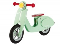 Balance bike, wood -JANOD- Scooter - mint