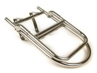 Rear rack, fold down -ULMA Style- Lambretta LI (series 1-2), TV (series 1-2) - stainless steel