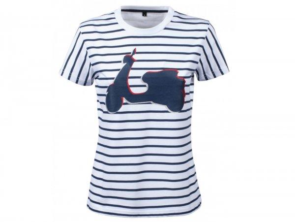 "T-Shirt -VESPA- Damen ""Graphic Shape"" - grau - XXL"