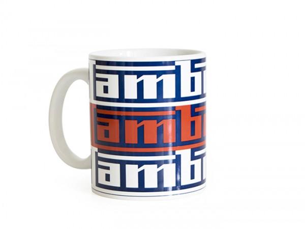 Tazza -LAMBRETTA - logo - blu