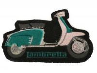 Fußmatte (für Haustür) -LAMBRETTA- grün