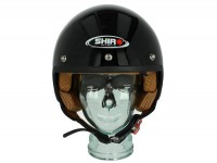 Helmet -SHIRO SH206, open face helmet- black - XL (61-62cm)