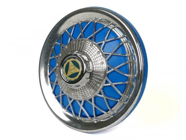 Wheel disc -FA ITALIA Old Style- 10 inch wheels - blue