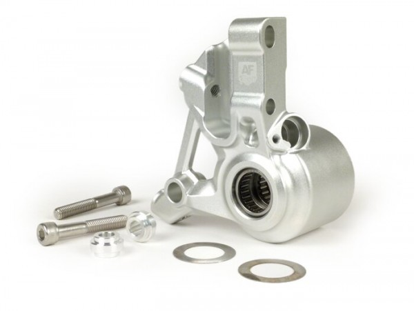 Bremszangenaufnahme vorne -AF PARTS CNC Touring, Radial- Vespa PK, PX (1998-), My, 2011, Cosa, LML, Stella - Silbern