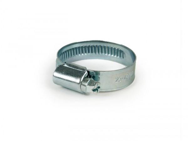 Collier de serrage -universel- 25-40mm - largeur de bague = 12mm