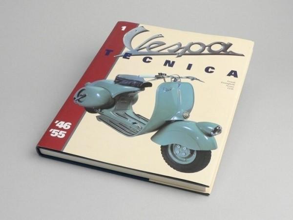 Libro -Vespa Tecnica I 1946-1955- inglés