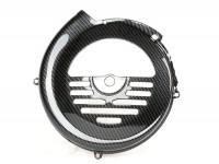 Flywheel cover -CIF carbon look- Vespa V50, PV125, ET3