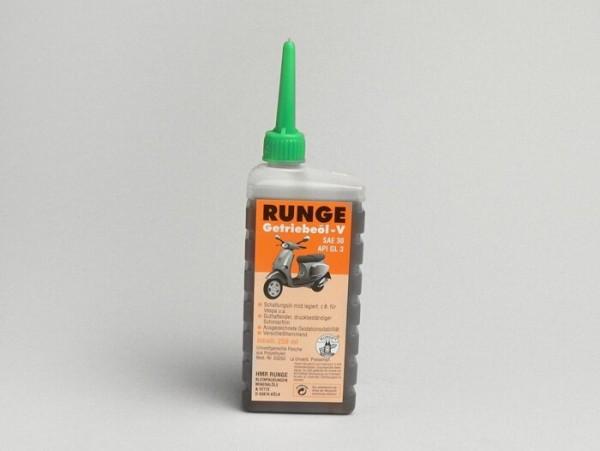 Getriebeöl -RUNGE- Vespa SAE30, GL3 - 250ml