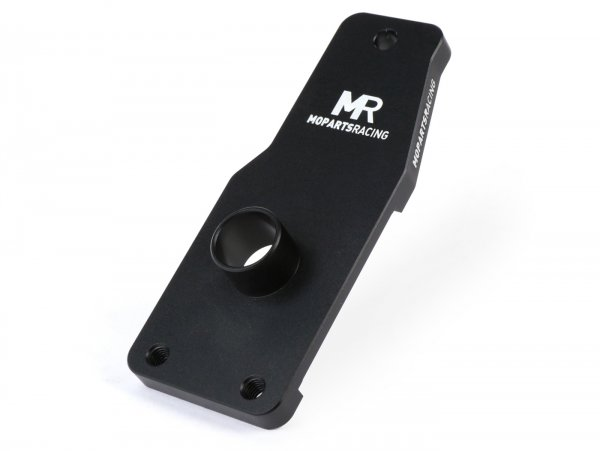 Intake manifold -MOPARTS RACING, Malossi MP-One Ciao,SI, type SHA16/16- AW=Ø19mm - black anodized