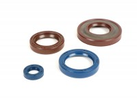 Oil seal set engine -CORTECO FKM- Vespa PK125 XL2, PK125 ETS - (Ø 24mm cone)