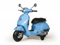 Moto eléctrica para niños -Vespa GTS- azul