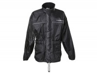 Waterproof jacket -SCEED 42- textile, black - L